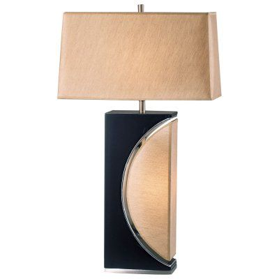 Half moon table lamp 0736
