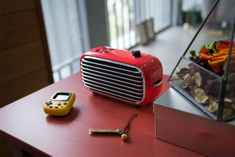 lofree poison speaker merges modern audio with vintage aesthetics