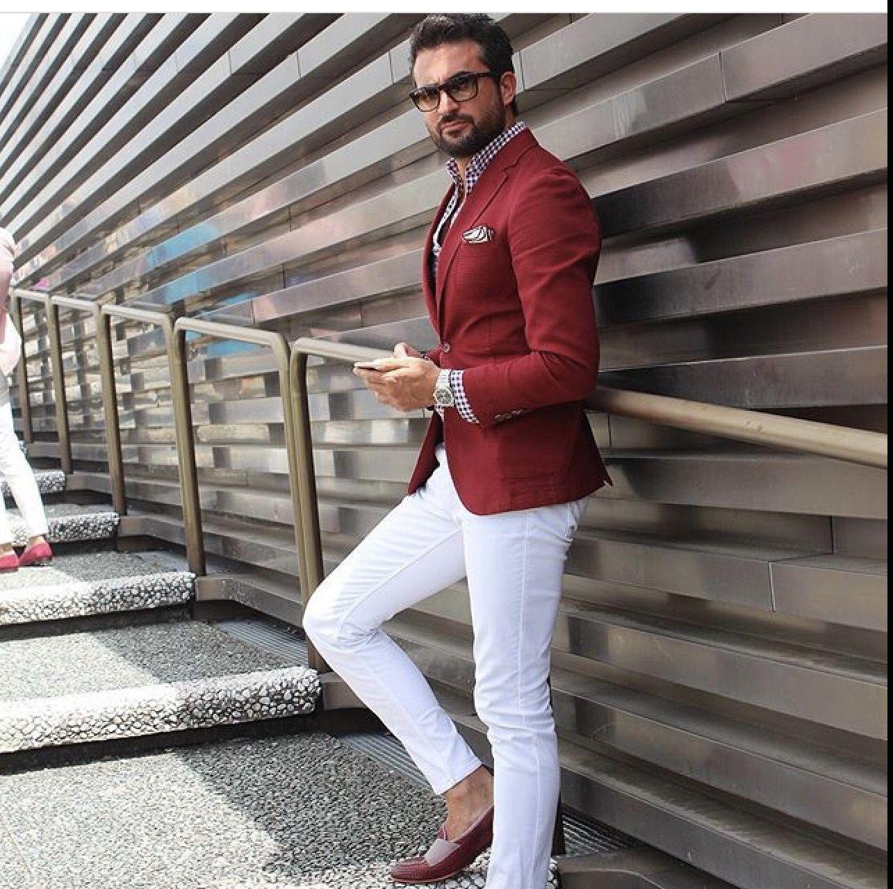 Mens Style Guide Herren Mode Stile Für Männer Mann Im