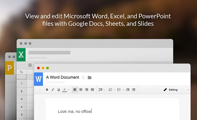 Try the Office Compatibility Extension to Open & Edit