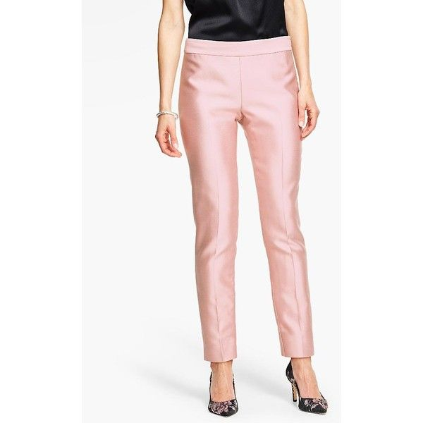39b11fe01a Talbots Women s Doupioni Tailored Ankle Pant ( 100) ❤ liked on Polyvore  featuring plus size women s fashion