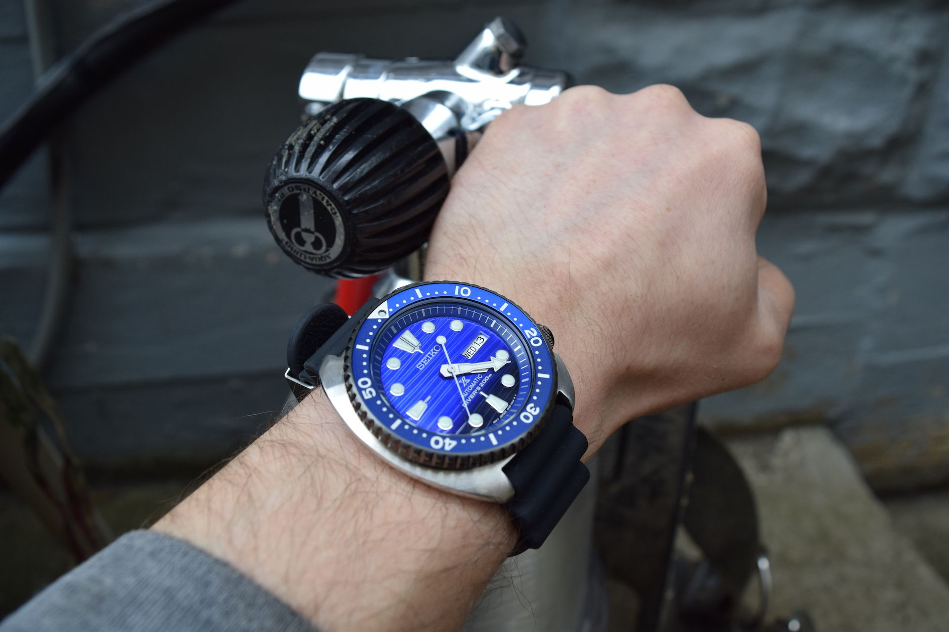 Seiko SRPC91K1 Save the Ocean Turtle Wrist Time Review in