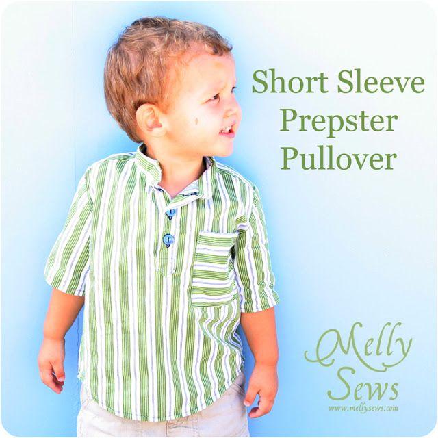 Short Sleeve Prepster Pullover
