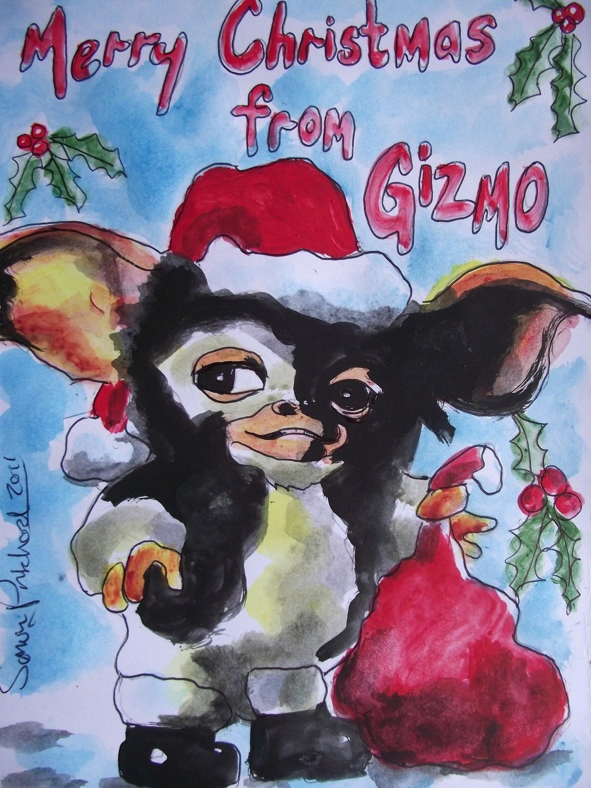 Merry Christmas From Gizmo Pictures, Photos, and Images