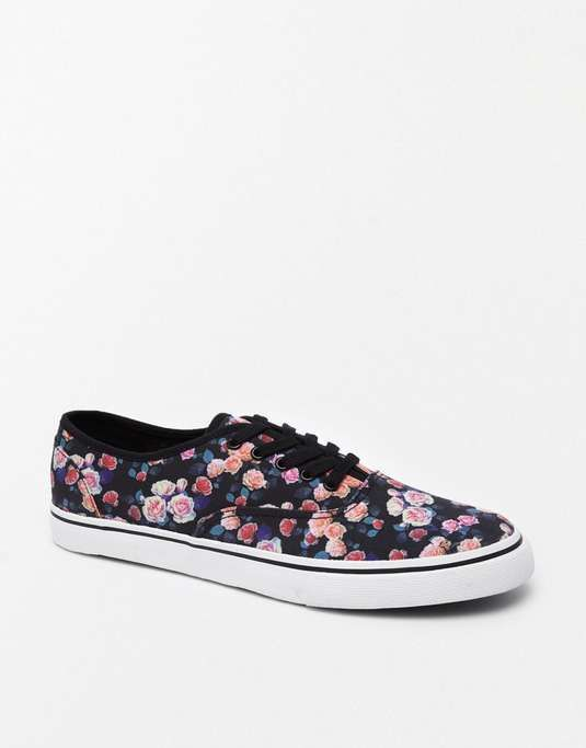 ASOS | Sneakers With Floral Print #asos #floral #sneakers