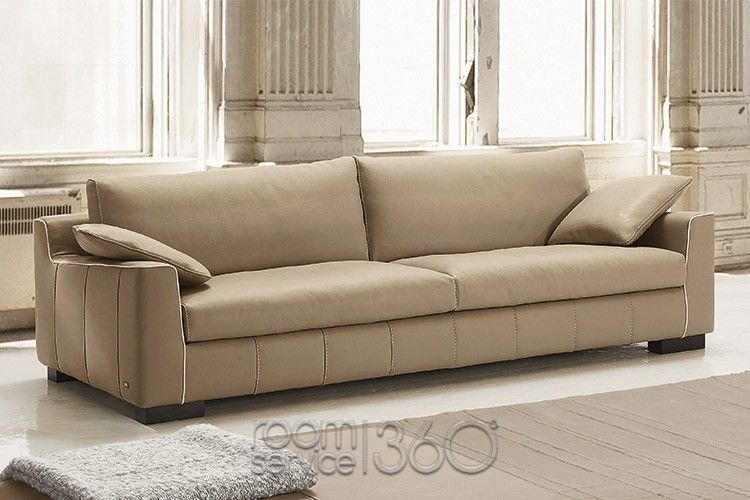 Lounge Modern Leather Sofa With Wooden Legs By Gamma Arredamenti Contemporary Leather Sofa Italian Sofa Leather Sofa