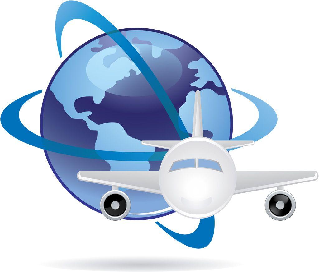 フリーイラスト素材 クリップアート 乗り物 航空機 飛行機 旅客機