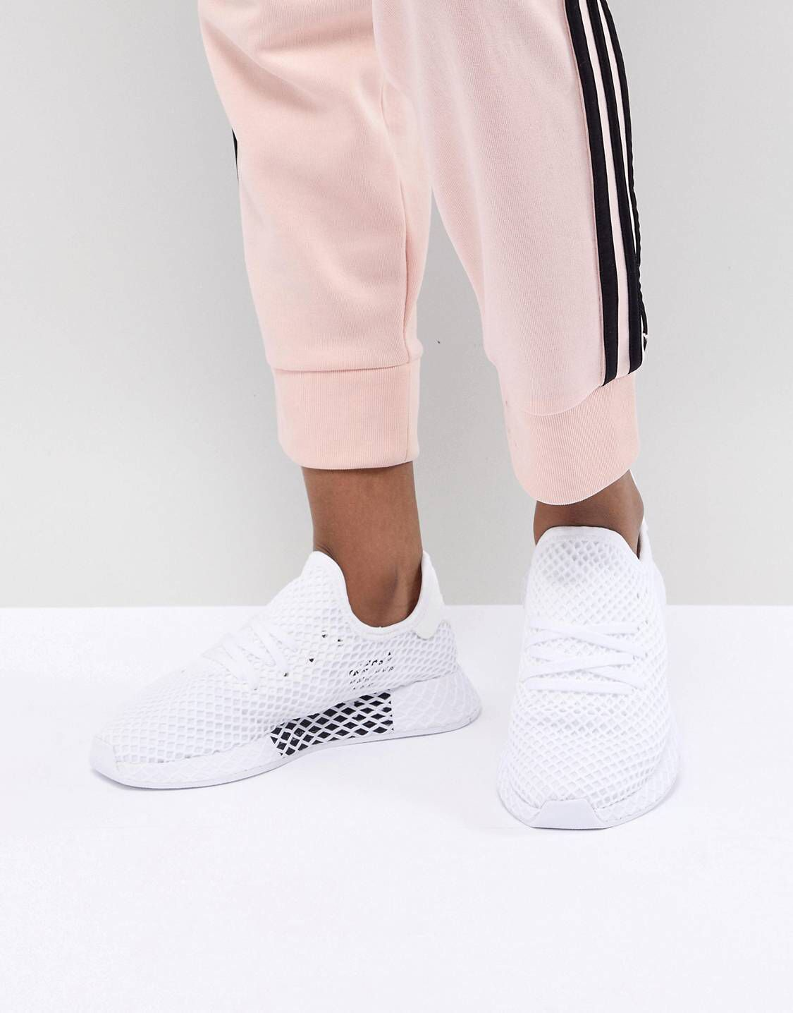 pretty nice 53a2c 0d5cf Zapatillas de deporte blancas Deerupt de adidas Originals   Shoes ...