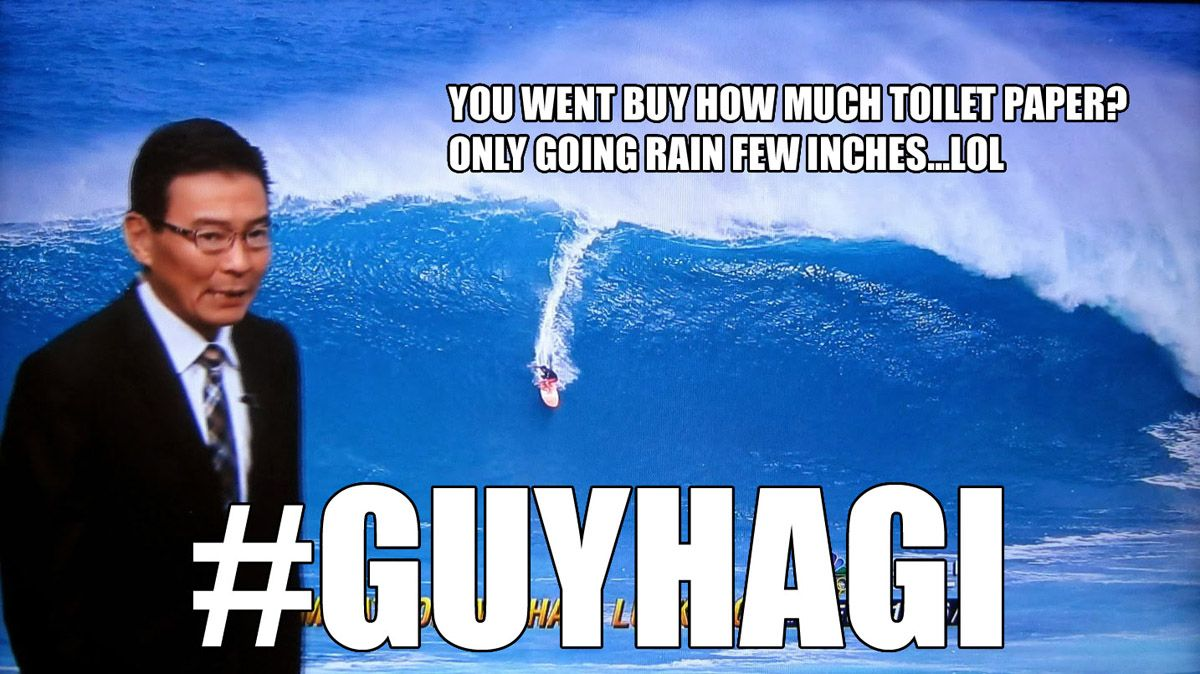 Guy Hagi Memes Hurricane Douglas