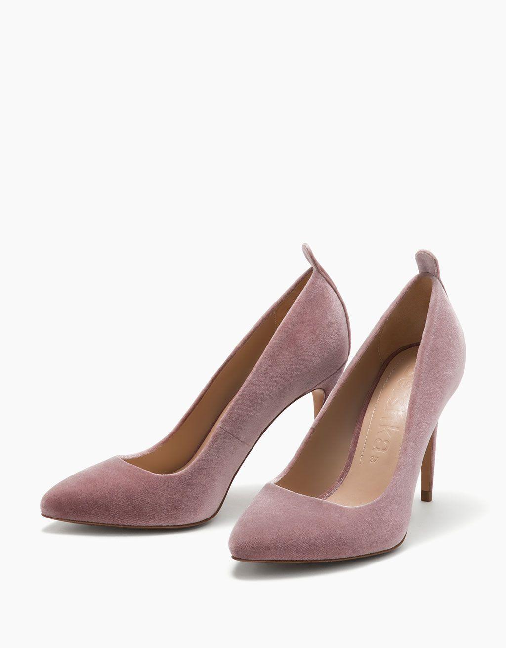 Rosa shoes Abril Rosa Y Cuero Pálido Bailarinas 8vwtU