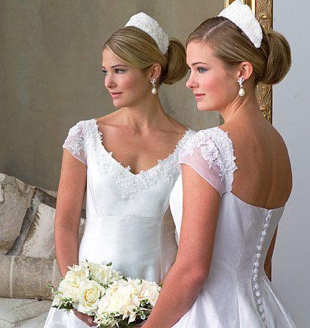 MODERN Vogue 2788 Wedding, Evening, Bridesmaid Dress Gown- Train ...