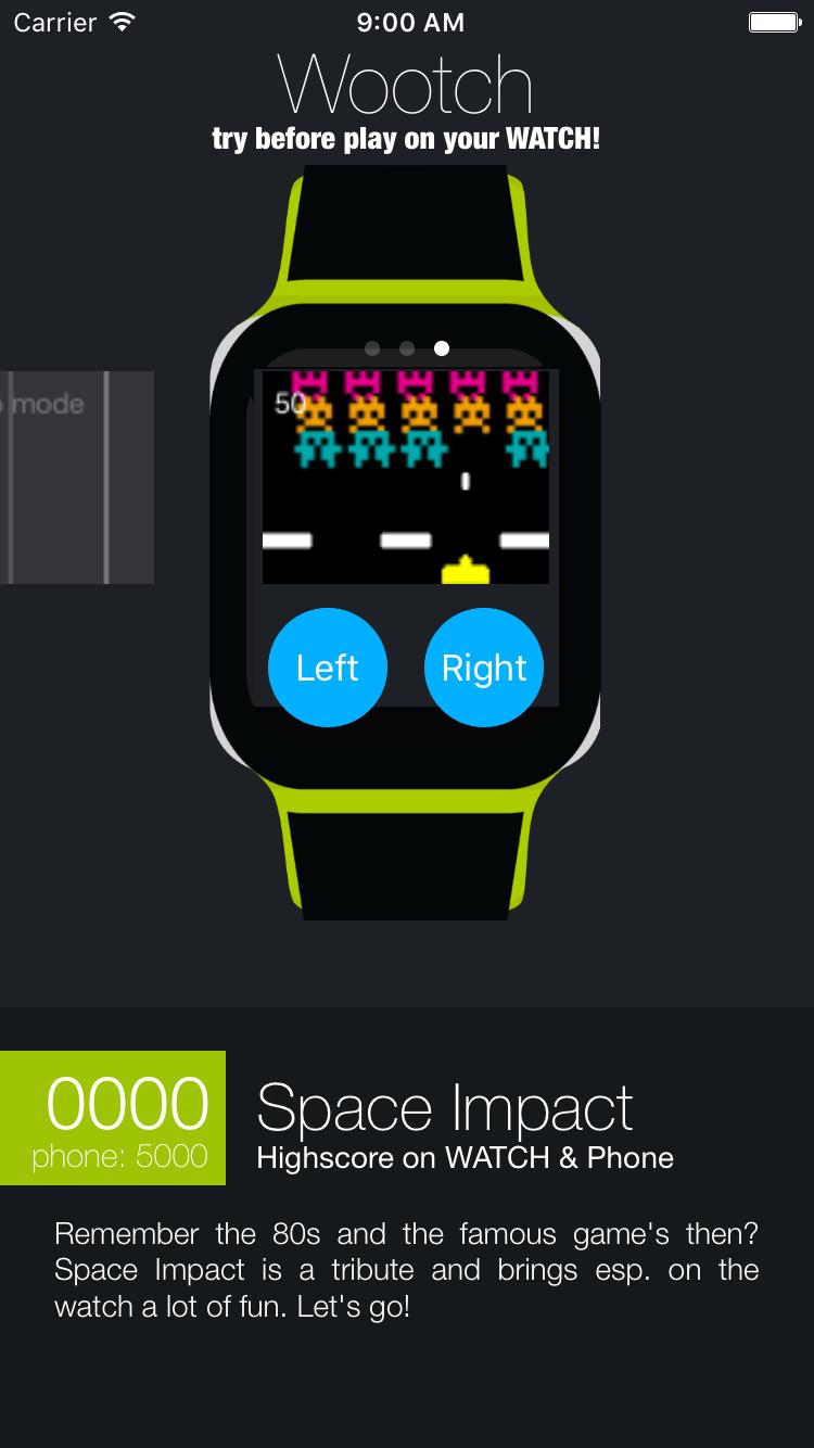 Wootch Native games for the Apple Watch (mit Bildern)