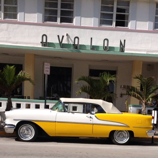 Yellow #Car at #Avalon South Beach, Miami #floridalife I Am the Passenger http://sheilablanchette.wordpress.com/2014/09/21/i-am-the-passenger/
