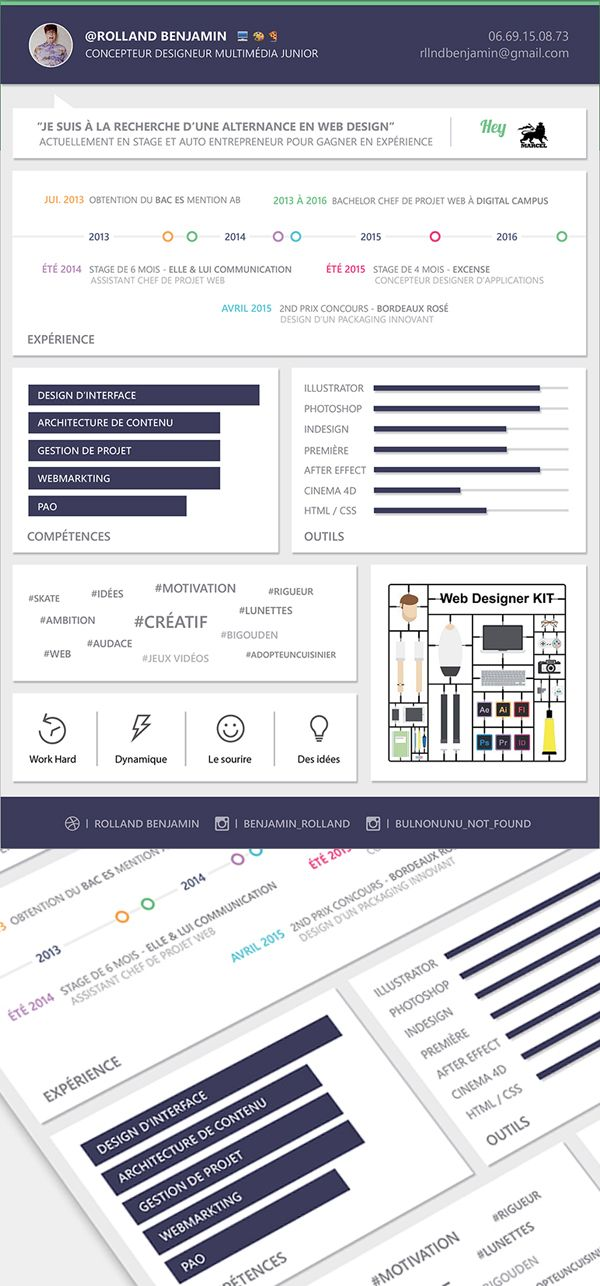 Free Material Design Resume Template Free stuff Pinterest - video resume website