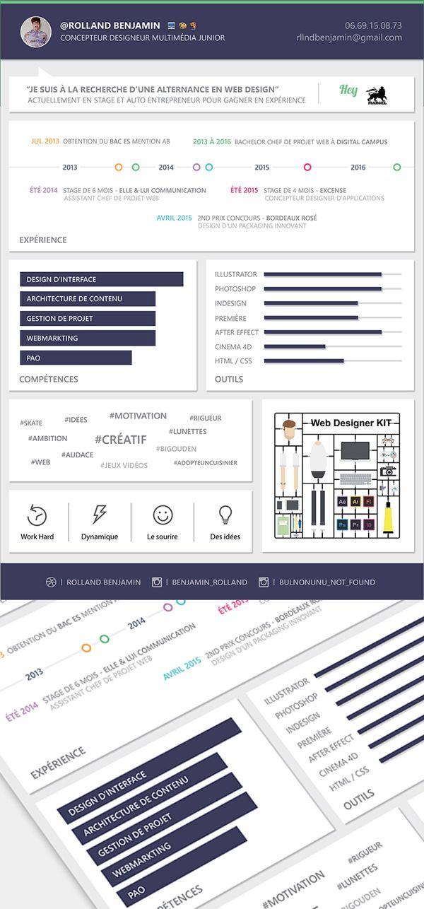 Free Material Design Resume Template | Free stuff | Pinterest