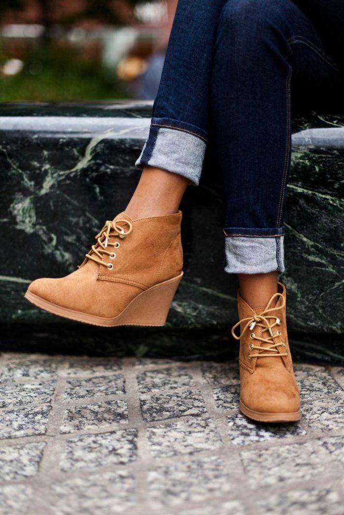 0169305f7d3c Les chaussures compensées - un must have pour la femme moderne ...