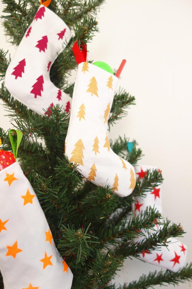 Mini christmas stocking DIY Emma's Blog Mini christmas