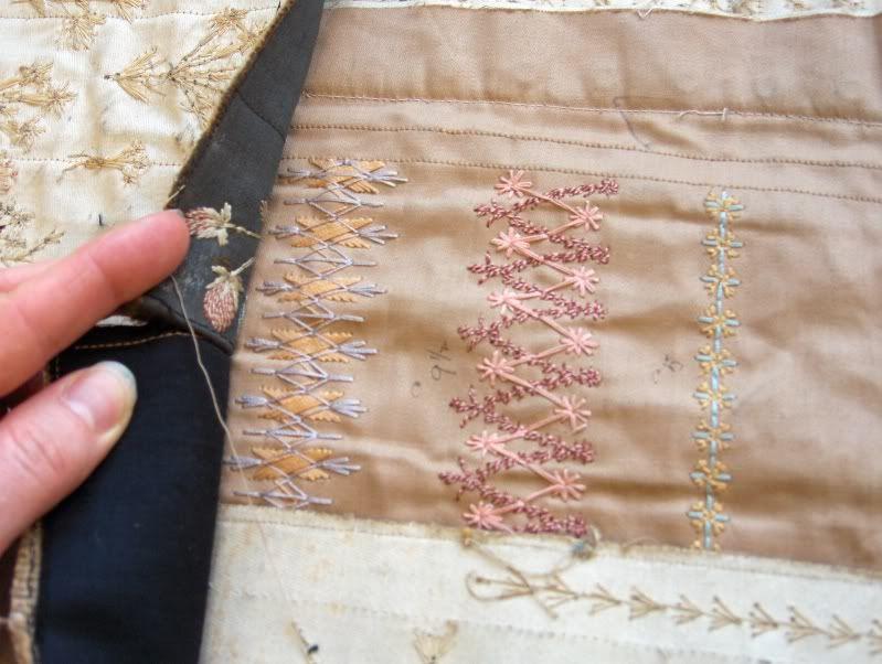 Corset flossing samples