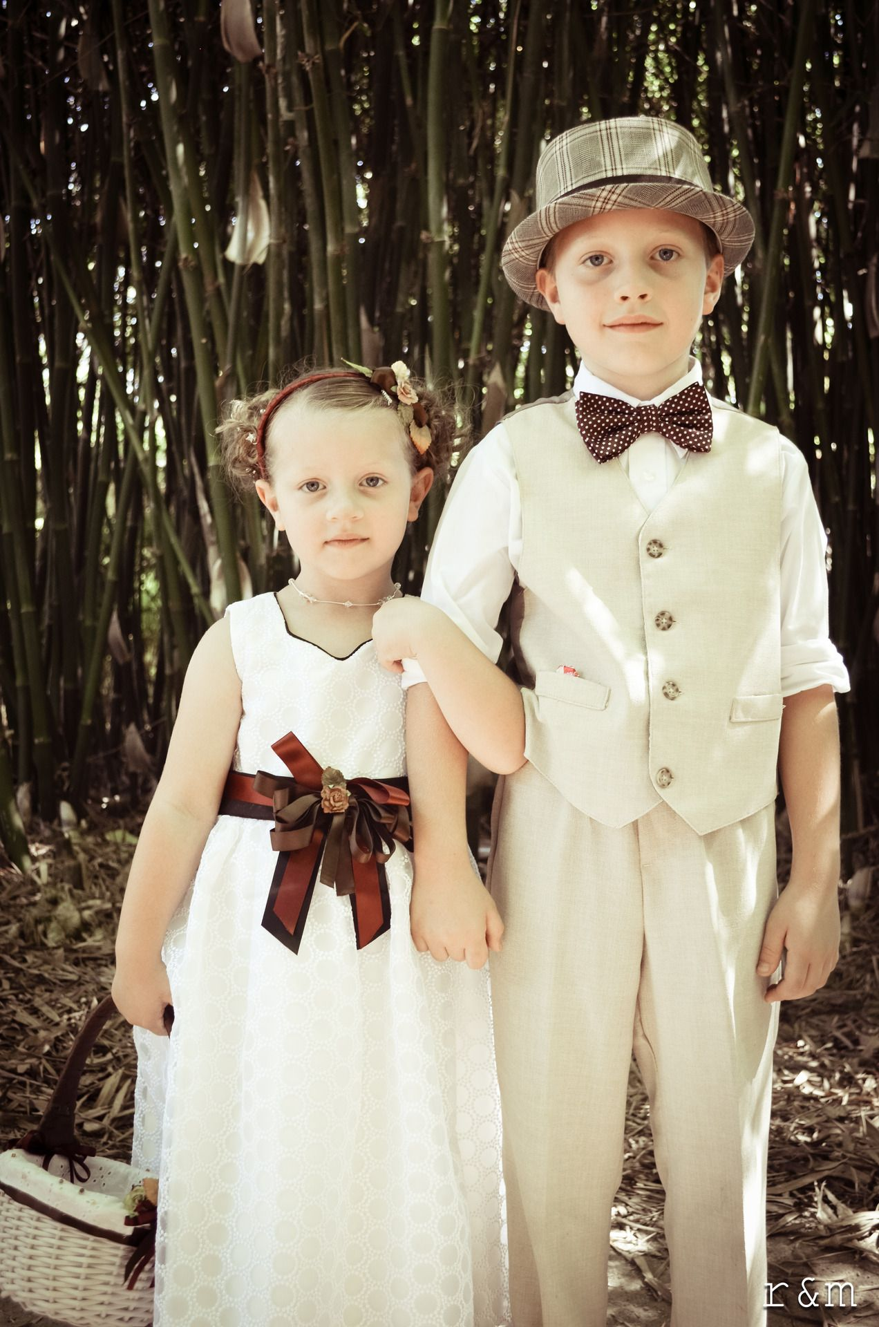 flower girl and ring bearer picture Wedding poses