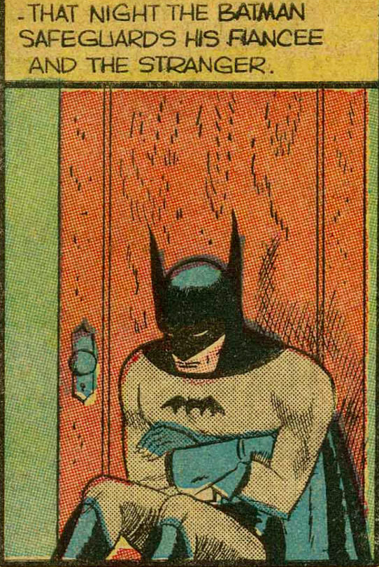 From Detective Comics #32, october 1939.