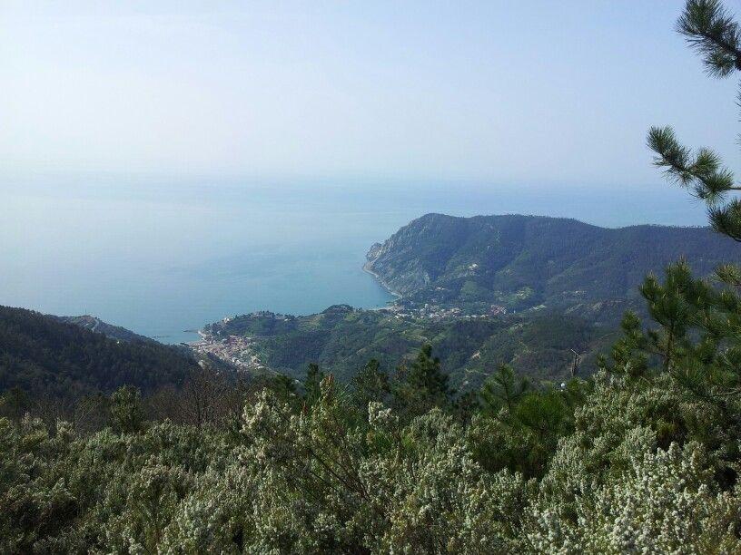 La vista dal sentiero è spettacolare!