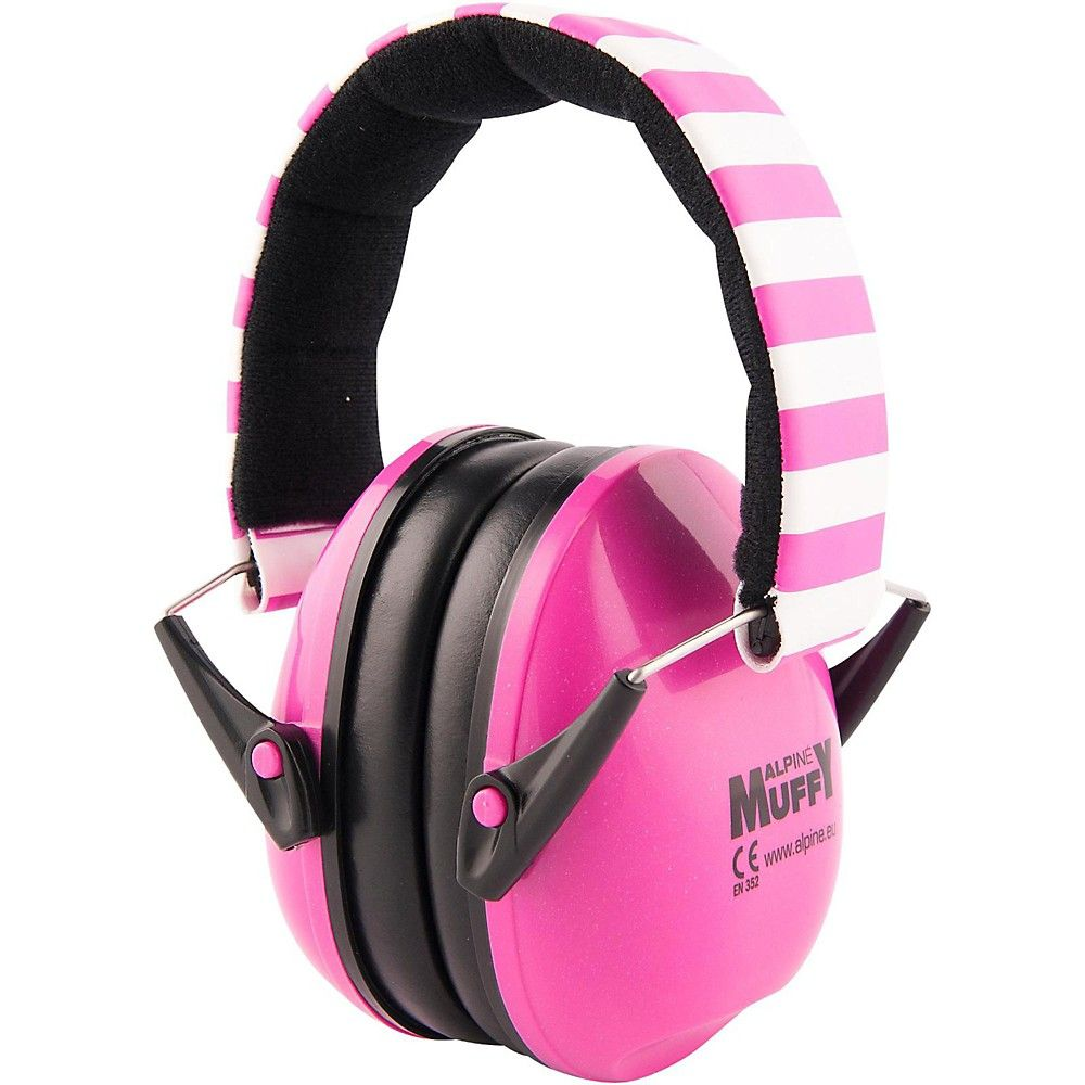 Alpine hearing protection ea earmuffs for kids pink hearing