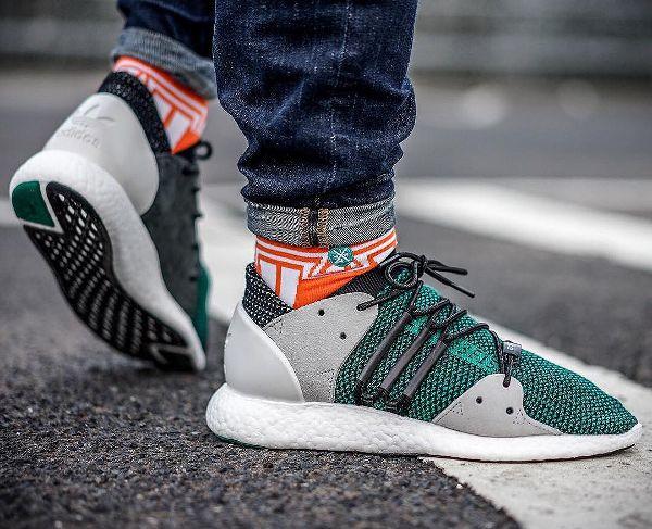 adidas eqt 3 3 f15 og nucleo nero - verde (1) scarpe partita