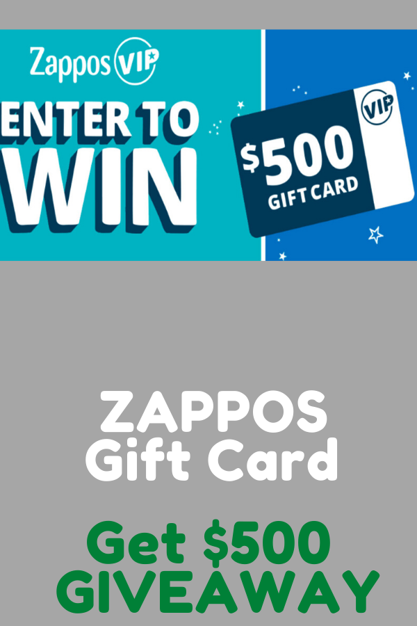 Take Free 400 Zappos Gift Card Giveaway Right Now Gift Card Cards Gifts