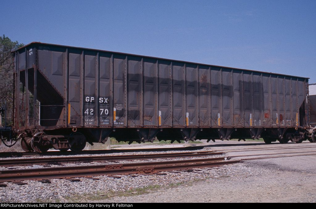 Gpsx 4270 A Former Csx Family Lines System Woodchip Hopper