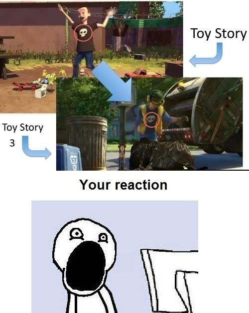 NO. FLIPPING. WAY.  I love Pixar!