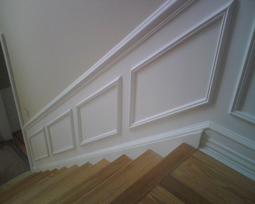 Applied Panel Wainscoting 5
