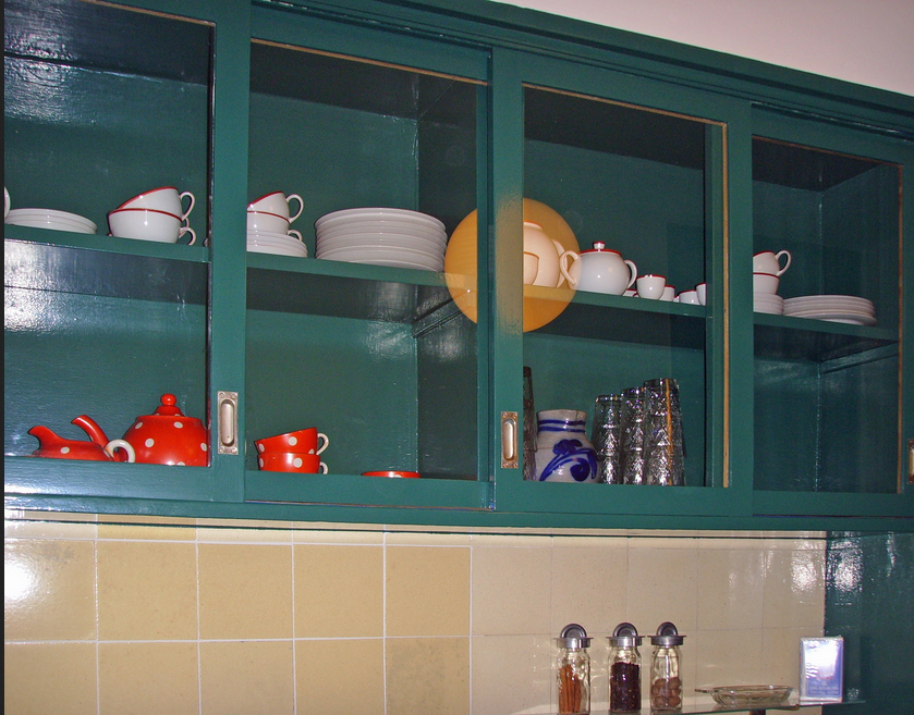 Ikea-küchen-hängeschrank-Küchenschrank-mit-Glastüren | Küchen ...