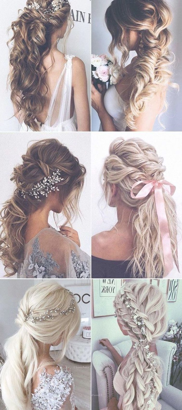6 Trendy Thick Voluminous Messy Fishtail Braid Loose Double Braids Long Bridal Hairstyle F Fishtail Hairstyles Long Bridal Hair Braided Hairstyles For Wedding