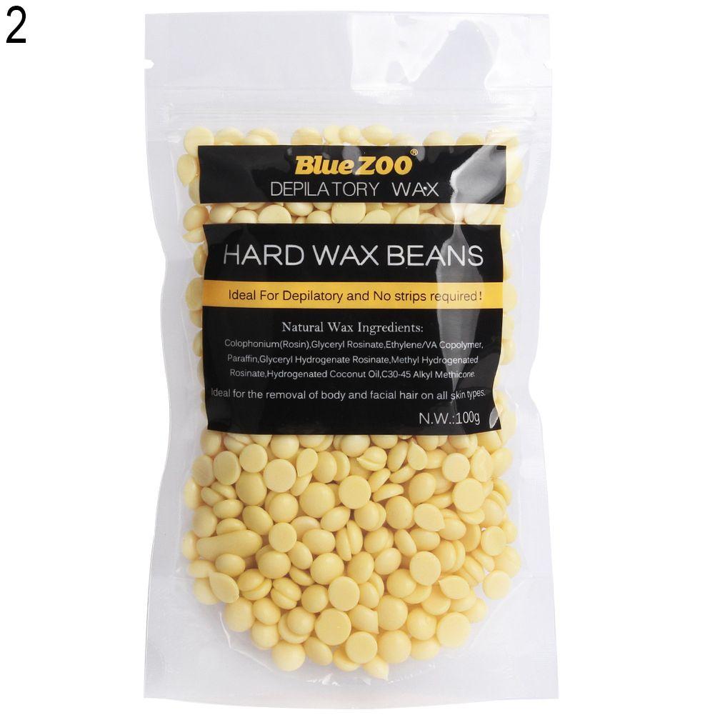100g Depilatory Hard Wax Beans Painless Waxing Body Bikini Hair Removal Wax Depilatory Wax Hair Removal Hair Removal