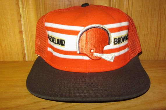 Cleveland BROWNS Original Vintage 70s Official by HatsForward ... ab911962837