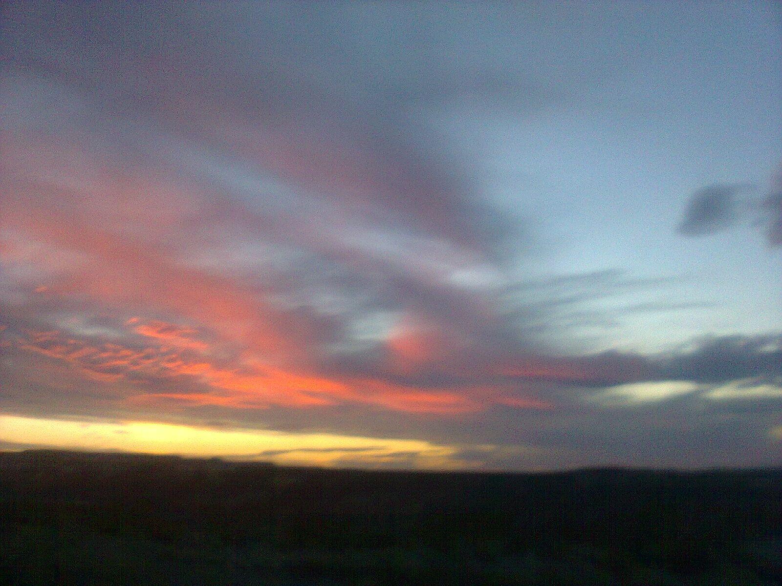Crepúsculos Nubes Cielo