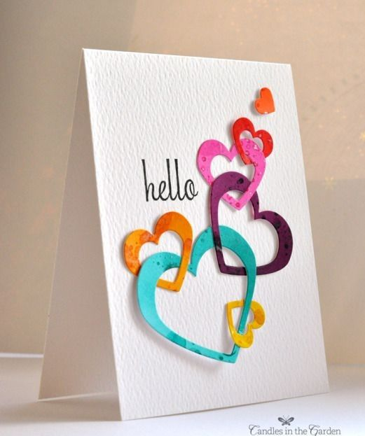 Handmade Cards Are A Great Way To Show Your Inner Feelings To Someone And To Greet Someone By Giving Card Made By Yo Valentines Cards Card Craft Birthday Cards