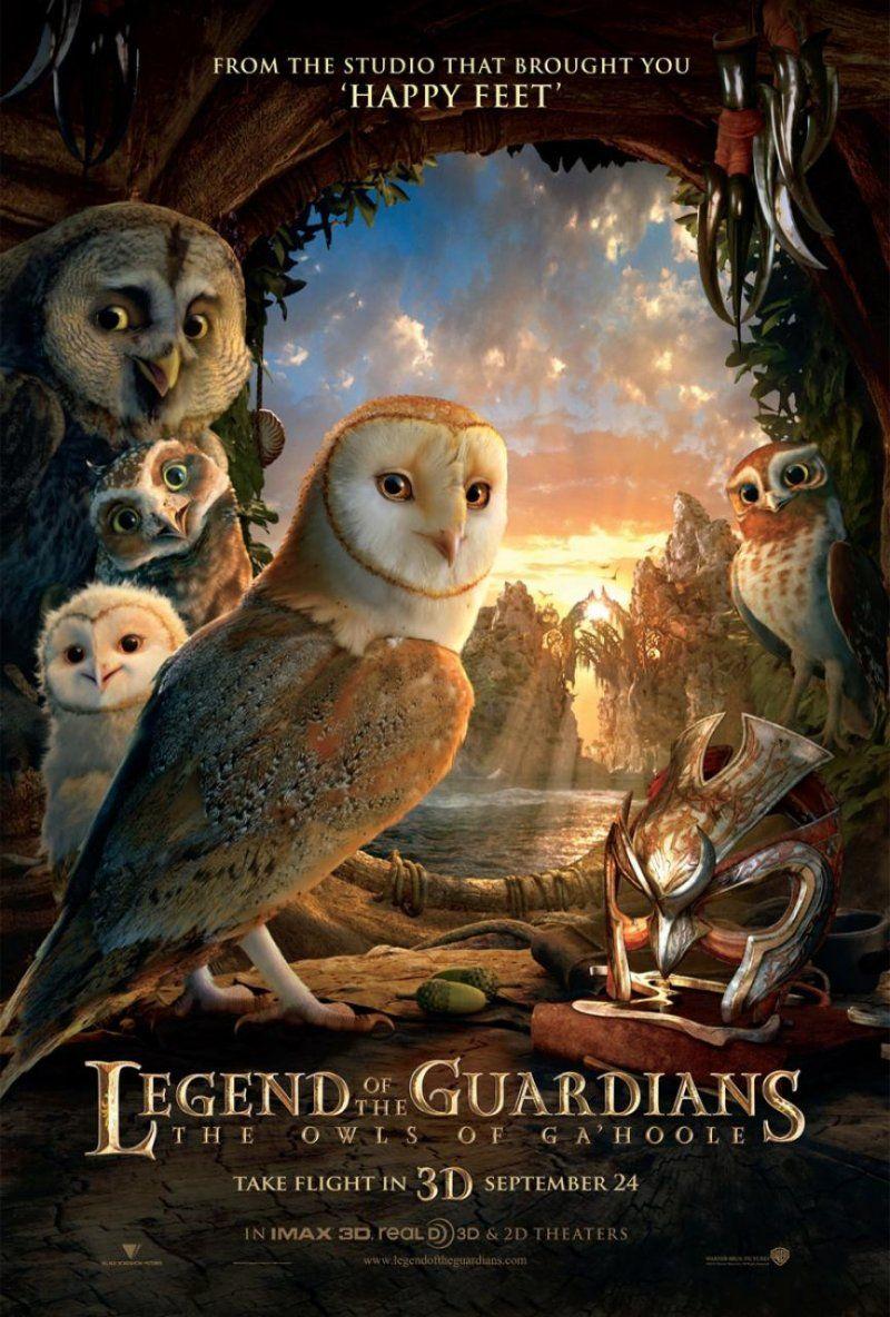 The Legend Of The Guardians Legend Of The Guardians The Guardian Movie Animated Movies