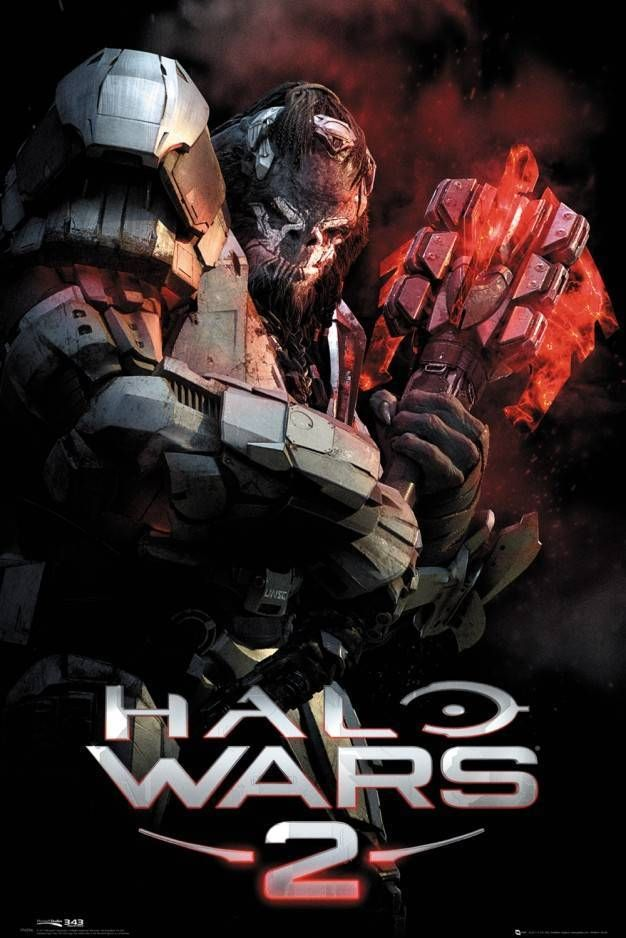 Halo Wars 2 Atriox Maxi Poster Halo Halo Game Gaming Posters