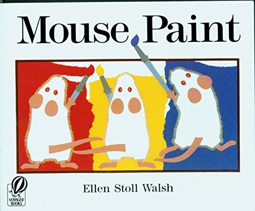mouse paint by ellen stoll walsh tyge - Kids Paint Book