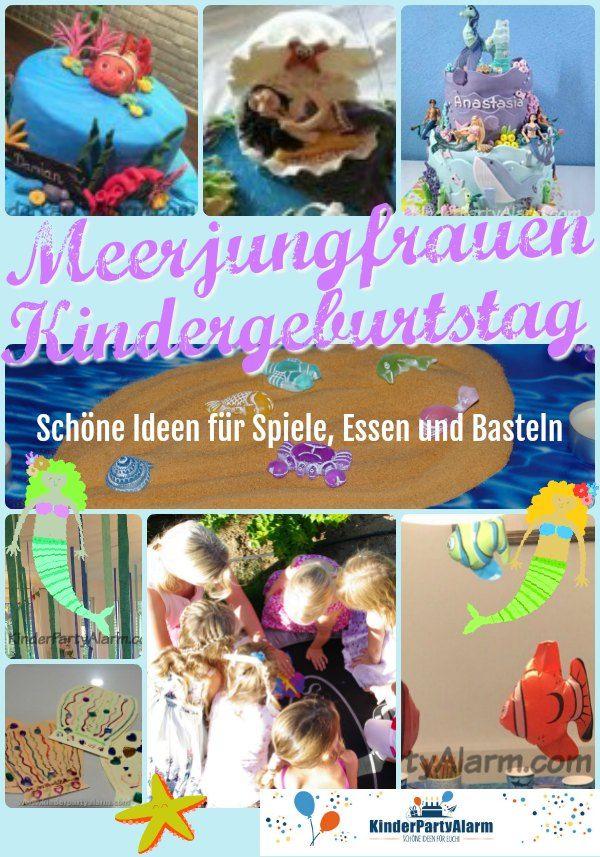 Photo of Meerjungfrau Kinder Geburtstag