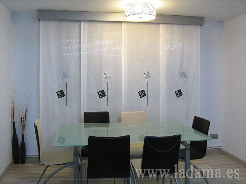 Panel japon s sliding panels ii paneles japoneses for Panel japones blanco y gris