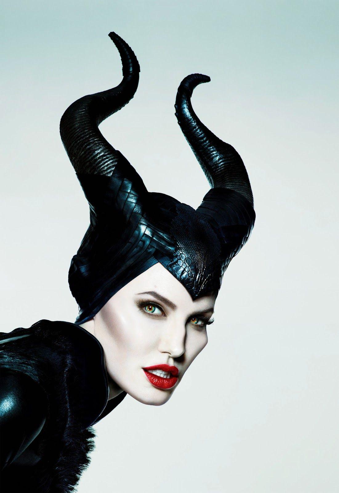 Maleficent Face Angelina Jolie Peliculas Fantasia
