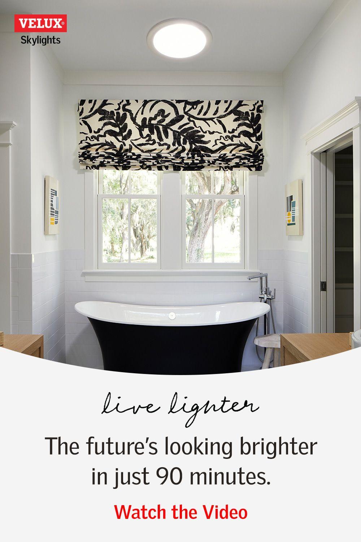 Bring Natural Light Inside And Make A Big Transformation For Less Than You D Ever Imagine Bathroom Remodel Master House Bathroom Bathroom Design