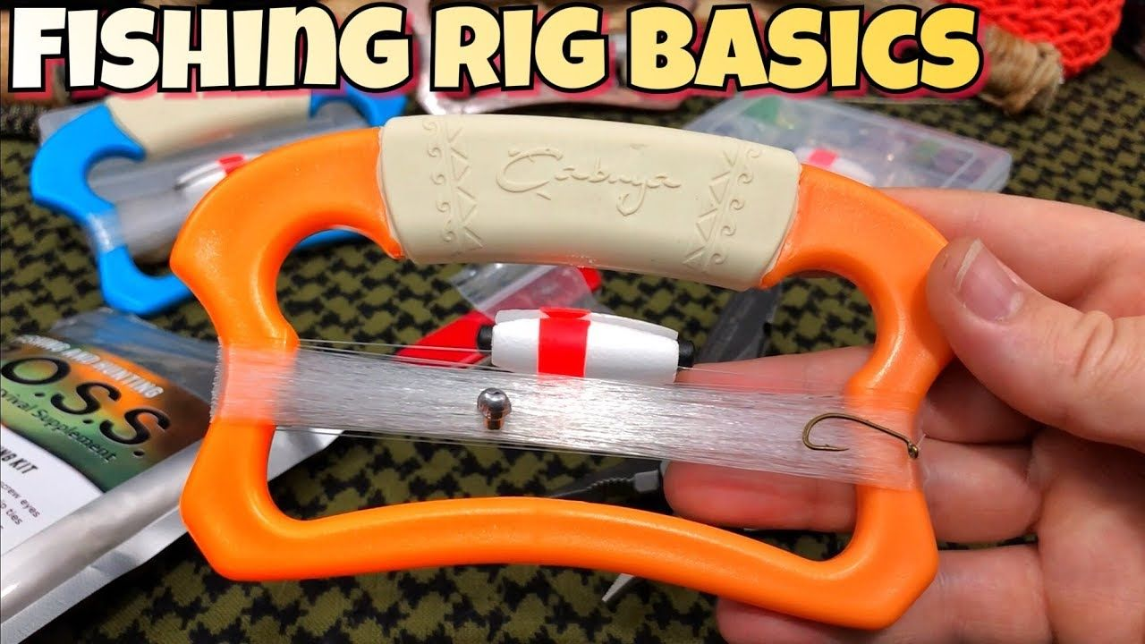 How to rig a fishing line simple setup the basics