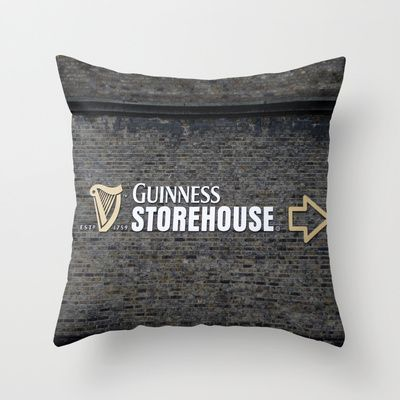 To The Guinness Storehouse We Go Throw Pillow By TheBlueRoseStudio Amazing Storehouse Decorative Pillow