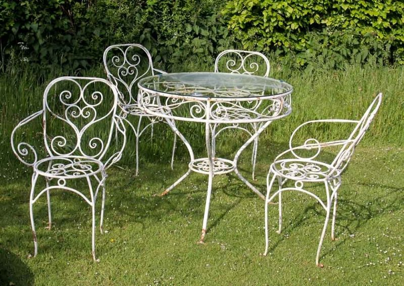 Garden Furniture Vintage Wrought Iron Garden Furniture Iron