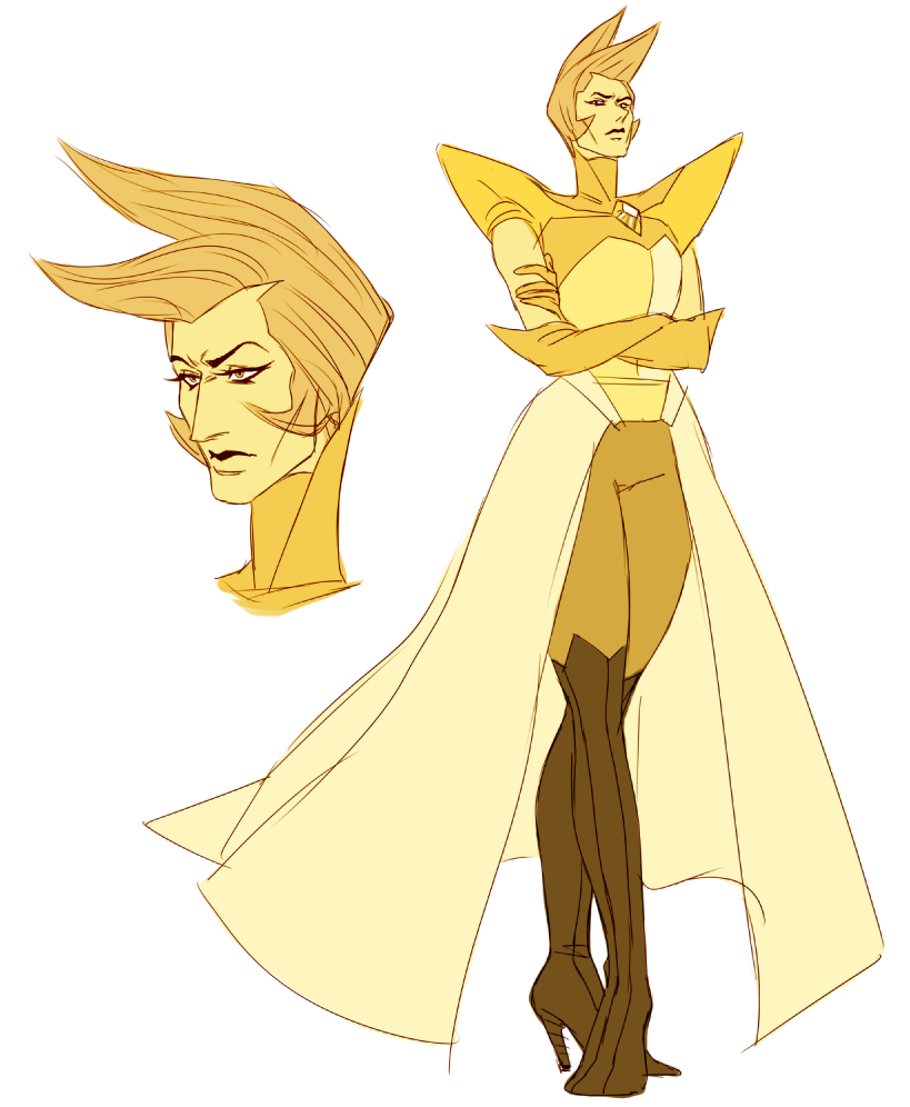 Yellow Diamond By Happyds Steven Universe Yellow Diamond Steven Universe Steven Universe Gem Steven Universe