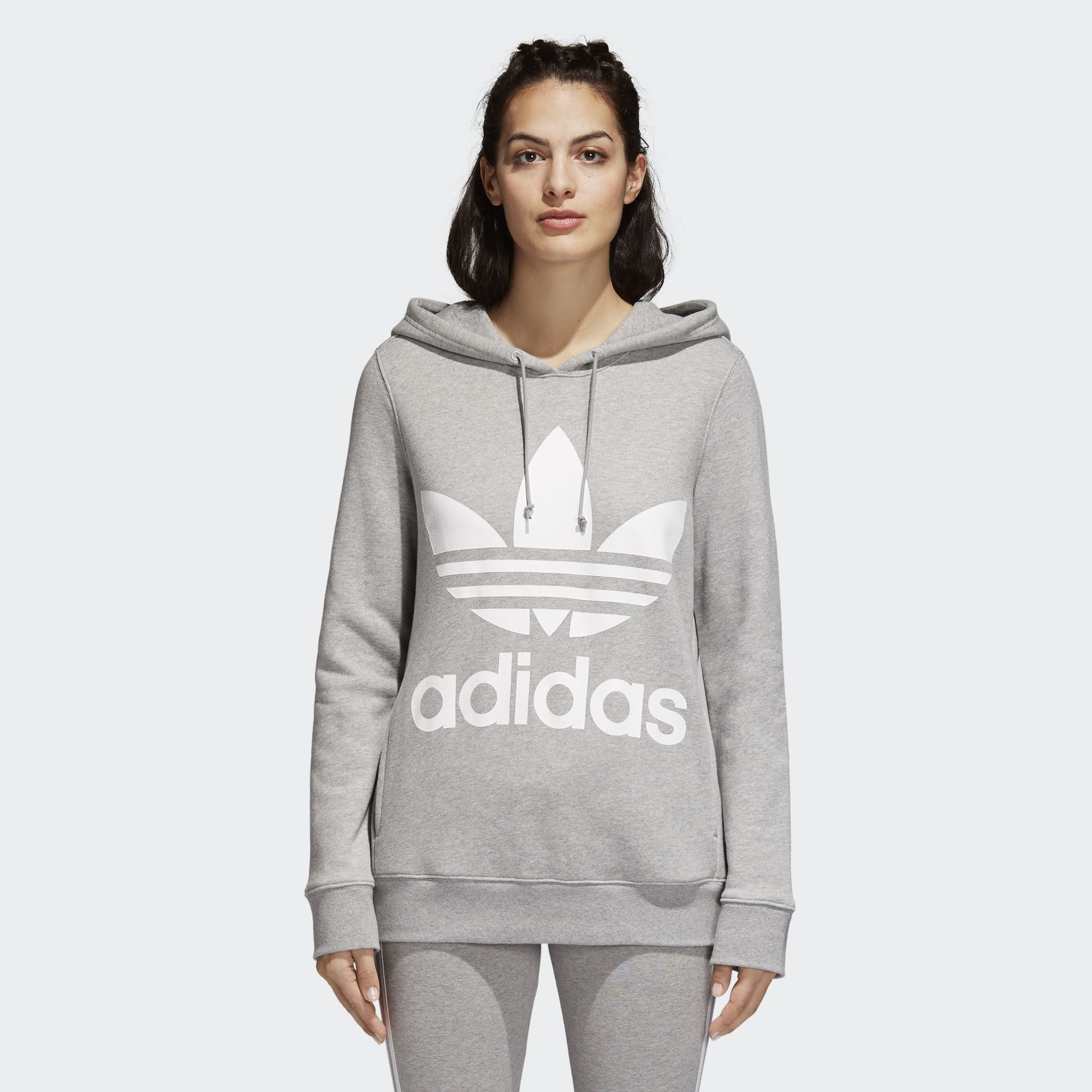 Predownload: The Trefoil Hoodie Is New For Lifestyle On Adidas Com Scroll Through The Pictures Above To See Hoodies Womens Adidas Trefoil Hoodie Women Hoodies Sweatshirts [ 2000 x 2000 Pixel ]