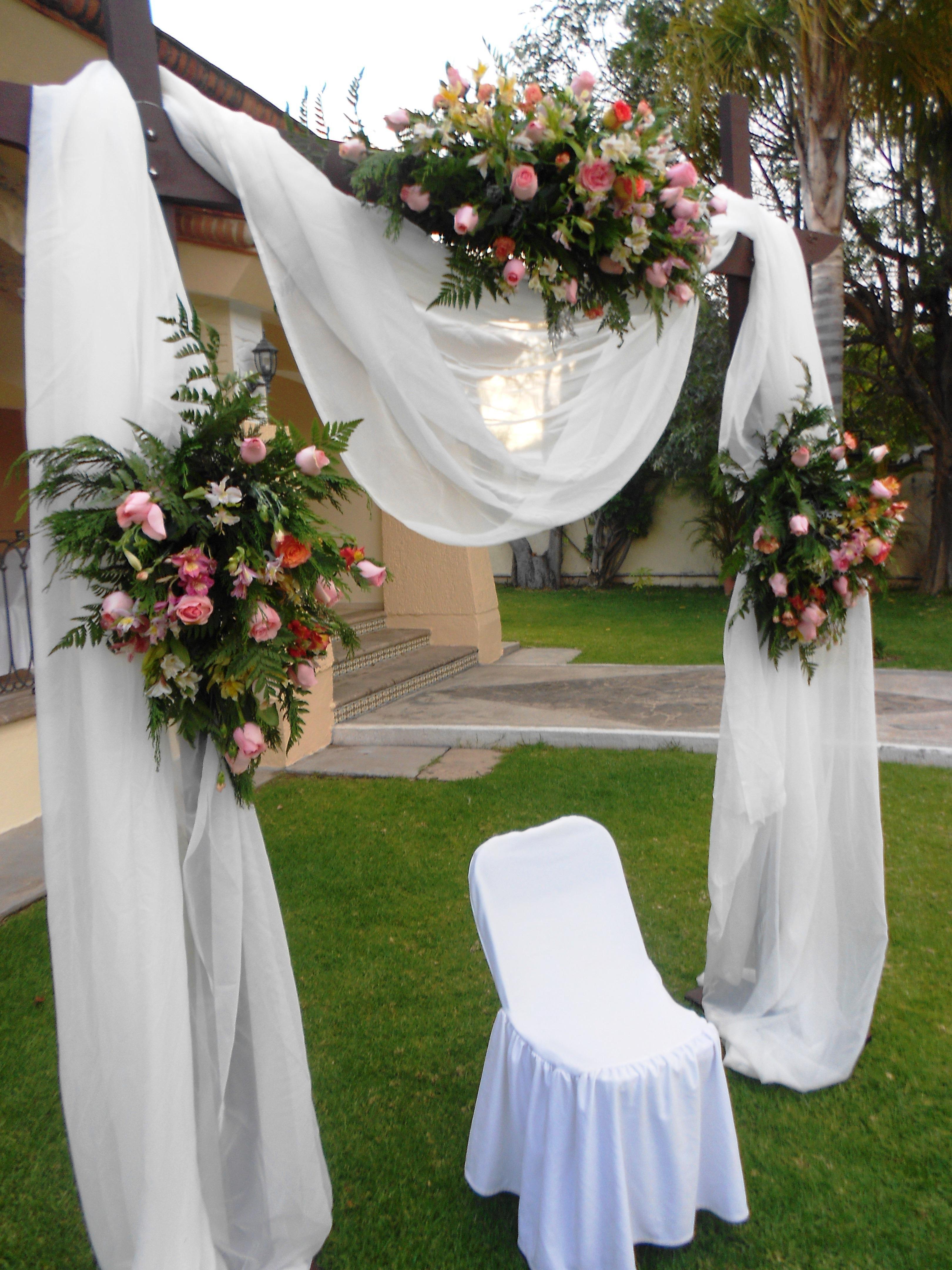 Decoraci n con telas para boda xv a os bautizo y primera for 15 anos vintage decoracion